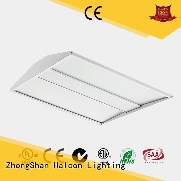design panel light motion emergency Halcon lighting company