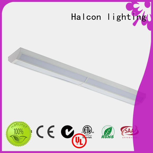 batten diffuser led linear light listed Halcon lighting company