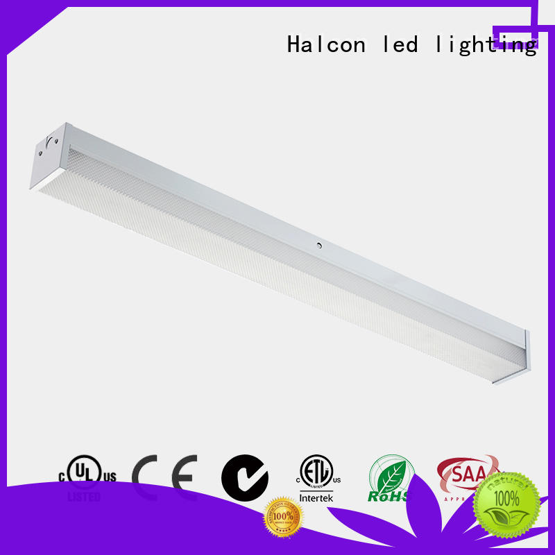 mounting white led lights milky pc material for conference room Halcon lighting