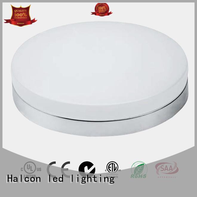 round led light resisdential housing led round ceiling light milky Halcon lighting Brand