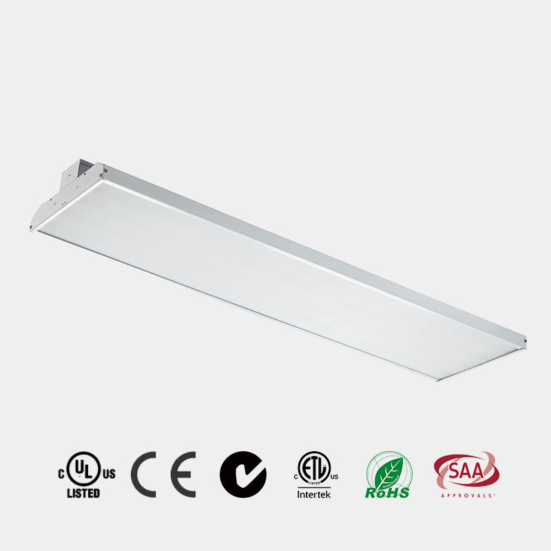 LED High Bay Light  80w 100w 150w 225w ETL DLC 130 LM/W  LED warehouse light microwave sensor emergency China HG-L225