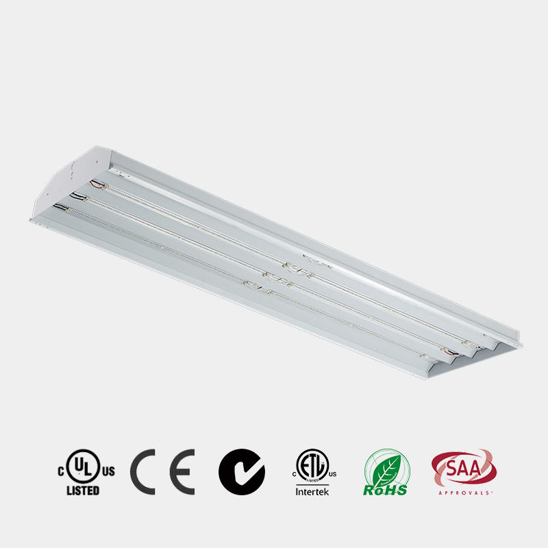 LED Warehouse Light 100w 150w 225w ETL DLC 130 LM/W microwave sensor emergency HG-L225A