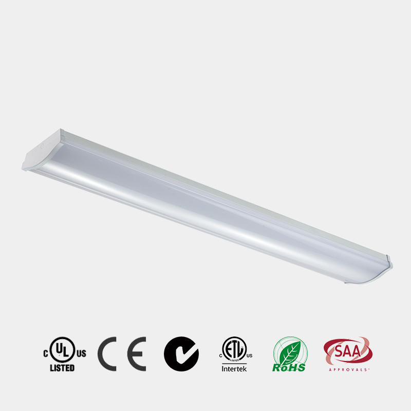 LED Linear Light PC diffuser DLC 110 LM/W CE ETL LED Strip LED Batten LED Graduate Fitting  HG-L201