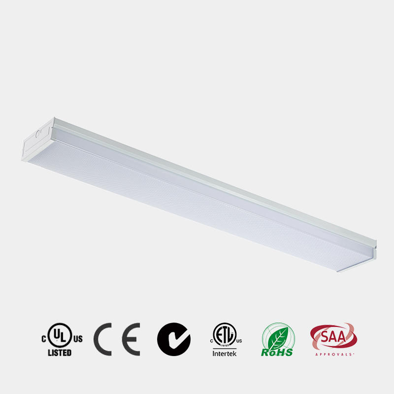 LED Wrapround light ceiling prismatic diffuser ETL listed 110 LM/W made in China HG-L202