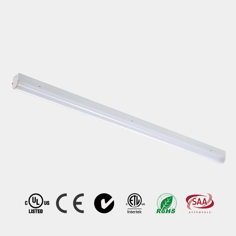 LED Light Strip PC diffuser  DLC 110 LM/W CE ETL LED slim Batten LED Linear Light China  HG-L207