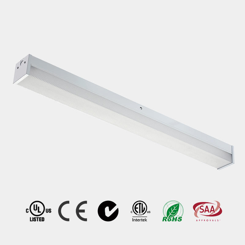 LED Strip Prismatic diffuser  DLC 130 LM/W CE ETL LED Batten China HG-L239