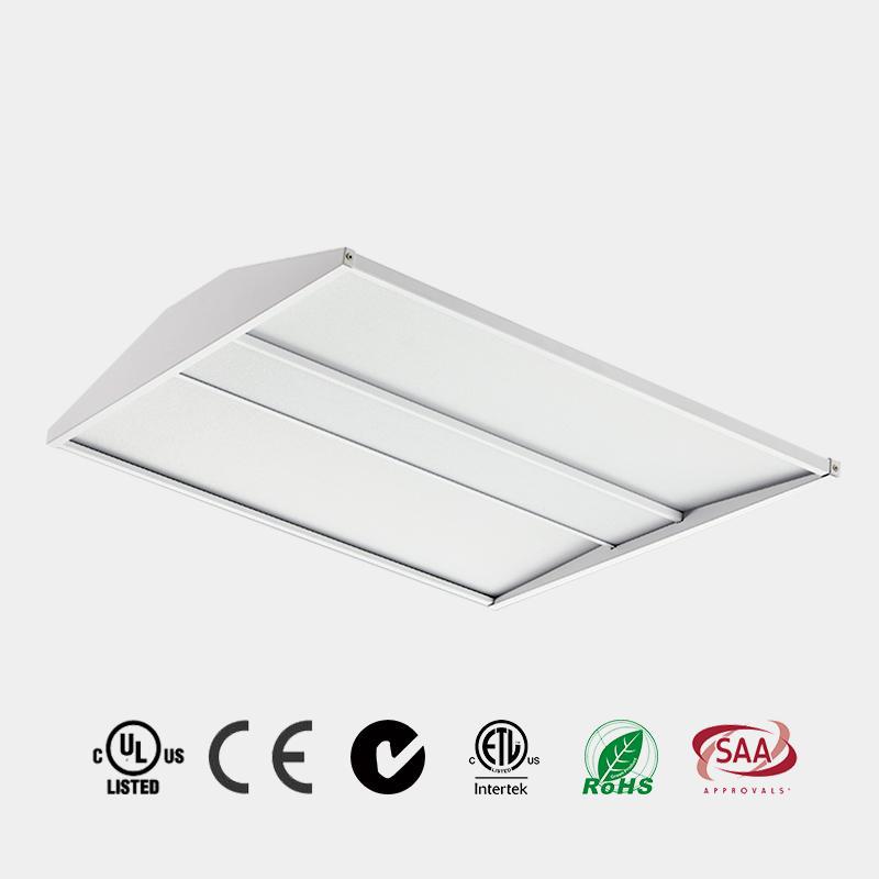 LED Troffer high architectural design 2x2 2x4 UGR<19 DLC 125 LM/W CE ETL LED Recessed LED Panel China HG-L254
