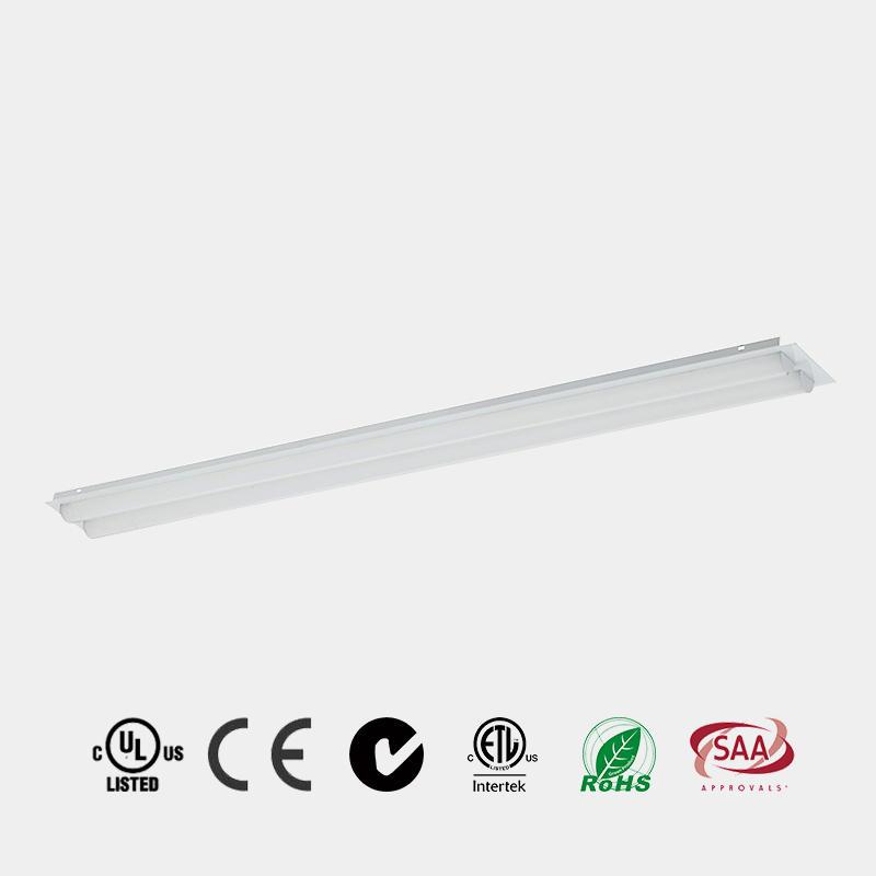 LED Strip Retrofit Kit 4ft 8ft 130 LM/W DLC premium China HG-L206R Retrfoit