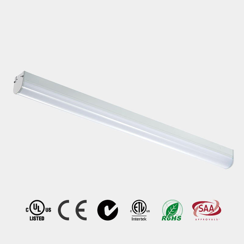 LED Strip Light 4ft 8ft 130 LM/W ETL DLC PC Milky diffuser LED Batten China HG-L205