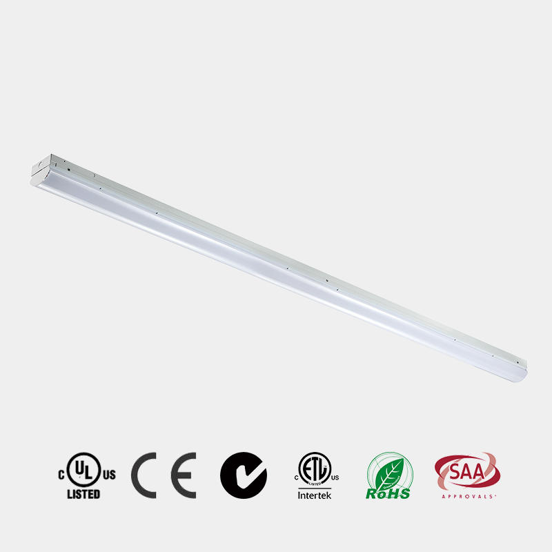 Corridor School using LED fitting very popular selling 4ft 8ft 130 LM/W ETL DLC PC Milky diffuser LED Batten China HG-L206