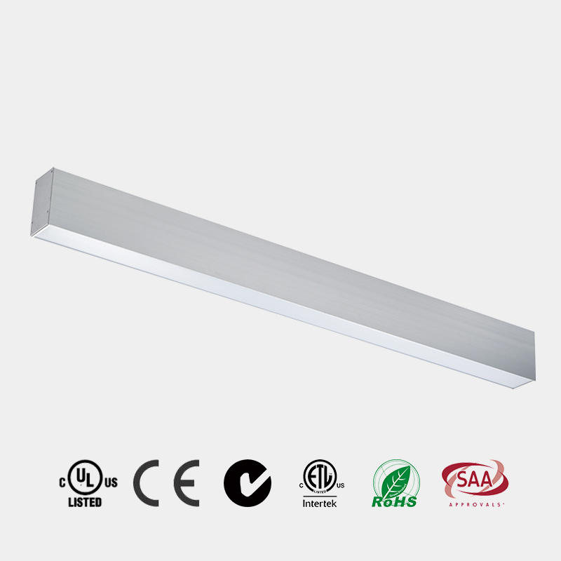 Pendant  LED Light PC Milky Diffuser 110 LM/W CE ETL Suspended China HG-L242A