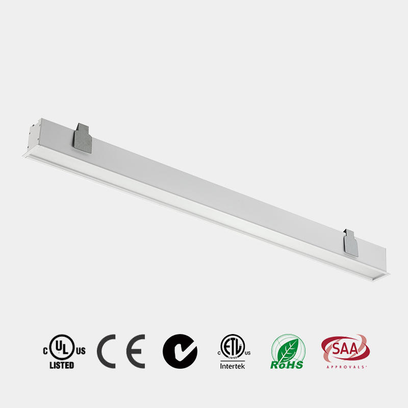 Recessed Led Linear Light Kitchen