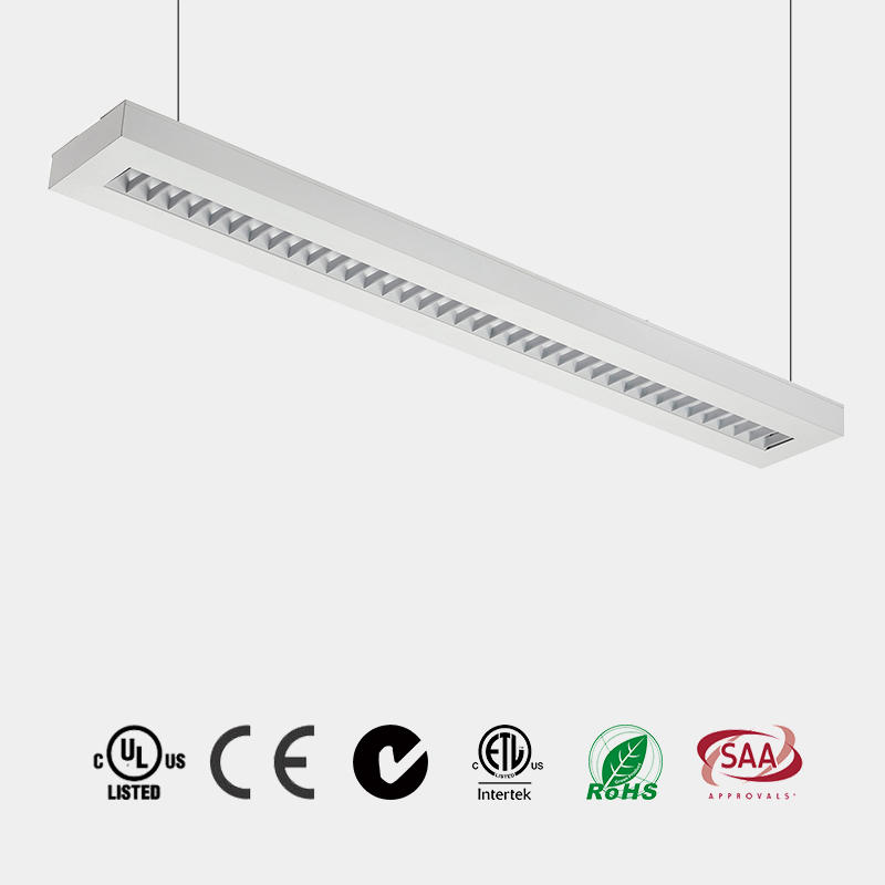 Suspended with UP light and Down Light CE ETL 110 LM/W drop light manufacturer in China P1835
