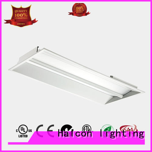 Halcon lighting Brand troffer sensor led panel ceiling lights panel