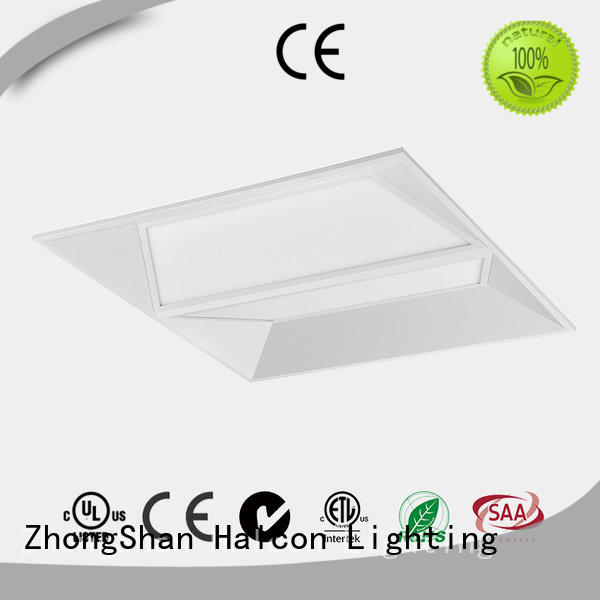 milky made led panel light Halcon lighting Brand company