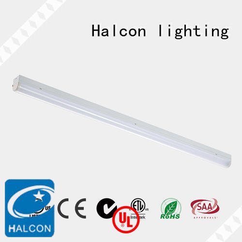 mounting wrapround led linear light fitting micro Halcon lighting company