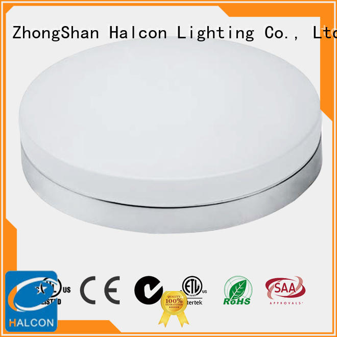 Halcon acrylic led circular ceiling light manufacturer for residential