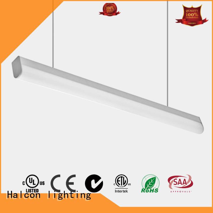 crystal pendant lighting lens aluminum pendant led light Halcon lighting Brand