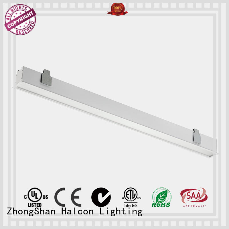 milky lens led housing Halcon lighting Brand