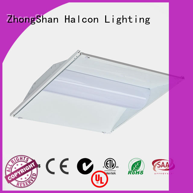 led can lights commercial acrylic lens Halcon lighting Brand company