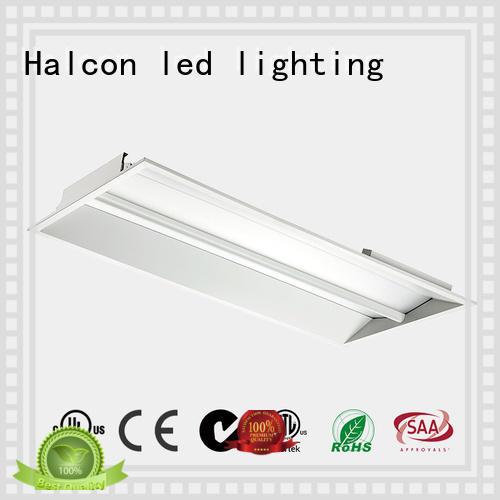 recessed motion panel light made design Halcon lighting company