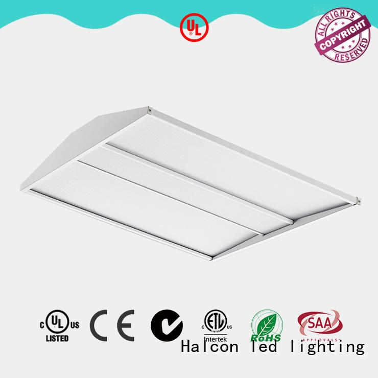 Halcon lighting fully recessed luminaire led troffer manufacturer for office