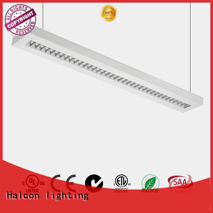 aluminum suspended ce shape Halcon lighting Brand pendant led light supplier