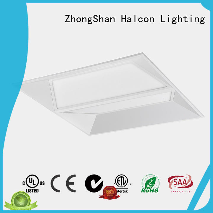 made led recessed panel light Halcon lighting Brand company
