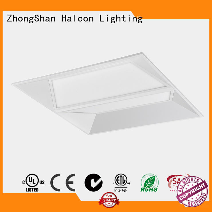 Halcon lighting flat led light supplier for conference room