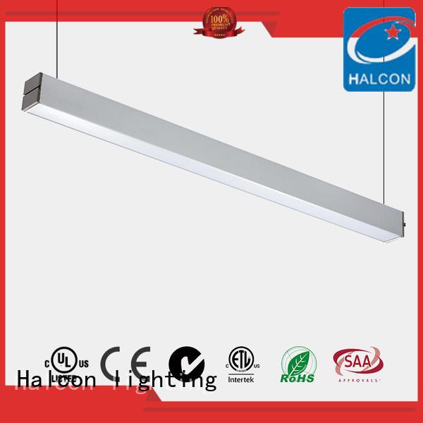 down manufactured big pendant led light aluminum Halcon lighting Brand