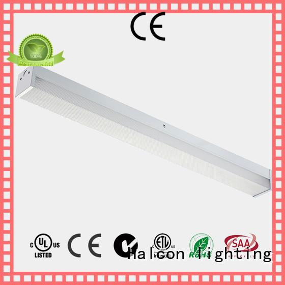 batten prismatic wrapround Halcon lighting Brand led linear light supplier