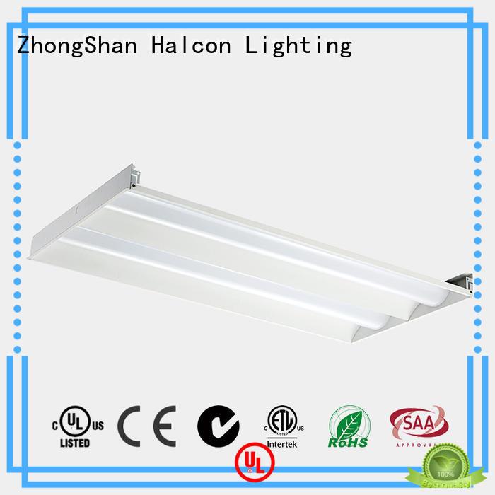 flat led light for shop Halcon lighting