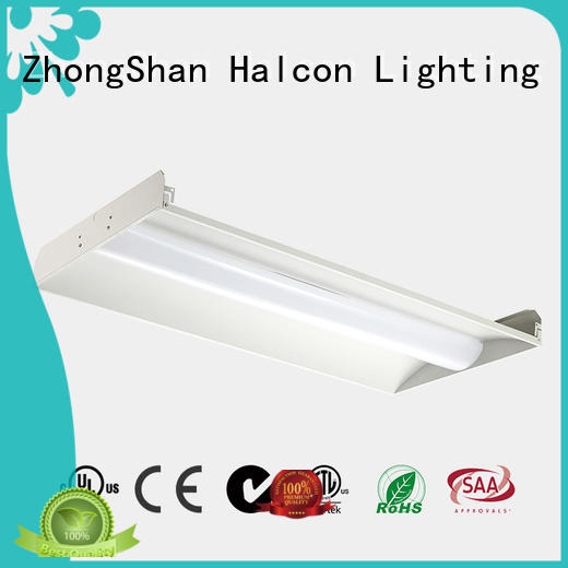 led panel troffer Halcon lighting Brand panel light supplier