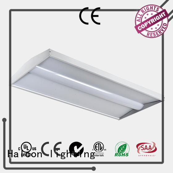 design led panel ceiling lights sensor architectural Halcon lighting Brand