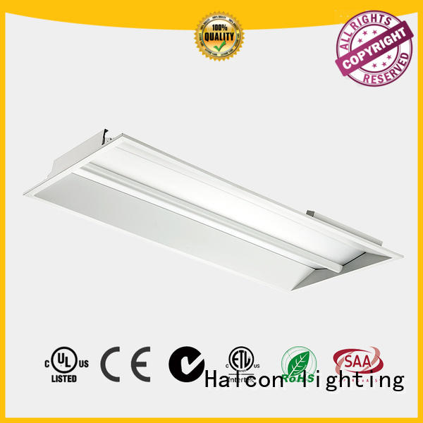 architectural design led panel light price fully recessed luminaire for office Halcon lighting