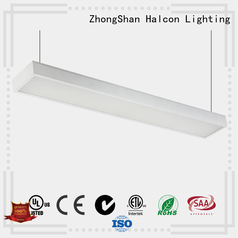 hanging etl up and down led light diffusion Halcon lighting company