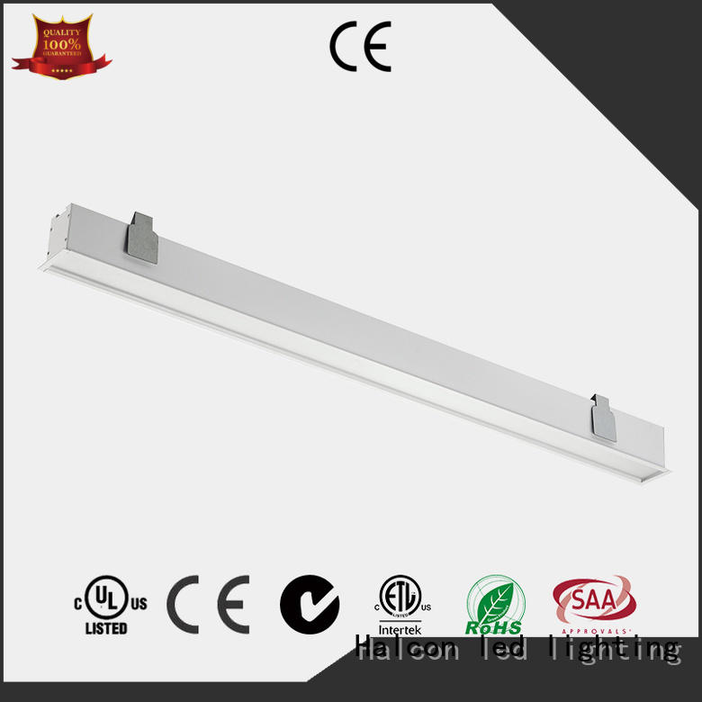 Wholesale aluminum led tube light fitting fixtures Halcon lighting Brand