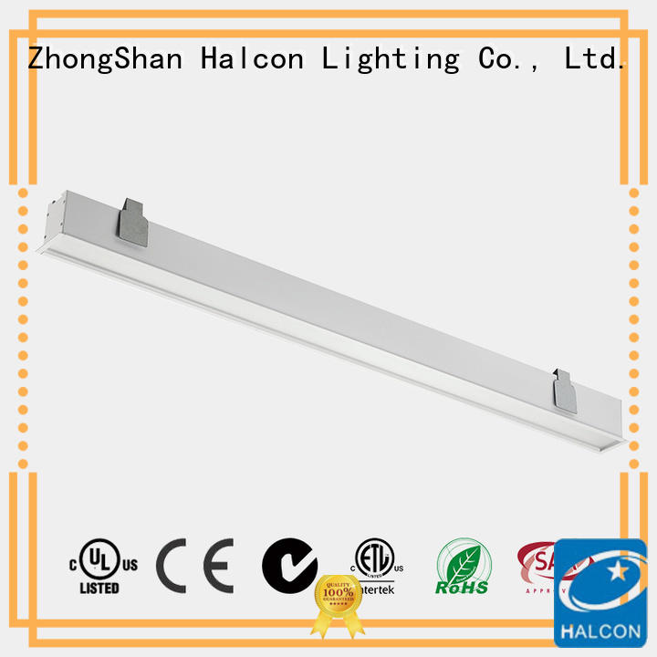 Halcon recessed shop lights wholesale for office