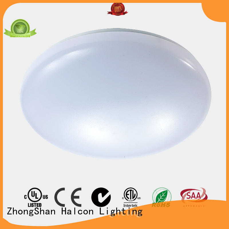 Halcon lighting Brand acrylic sizes milky custom round led light