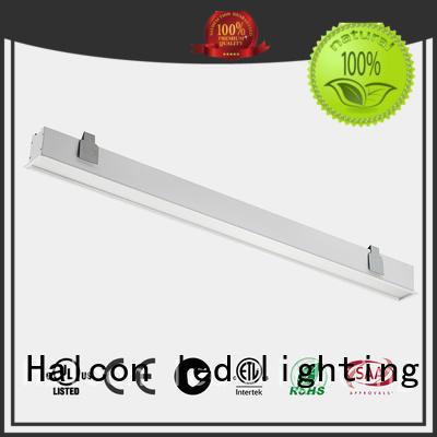 Halcon lighting Brand housing milky led housing acrylic factory