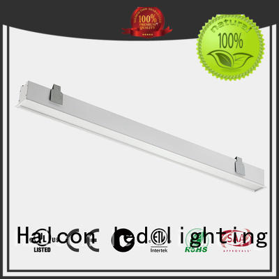 Halcon lighting Brand housing milky led housing acrylic factory