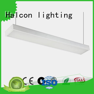 Custom suspended hanging up and down led light Halcon lighting pendant