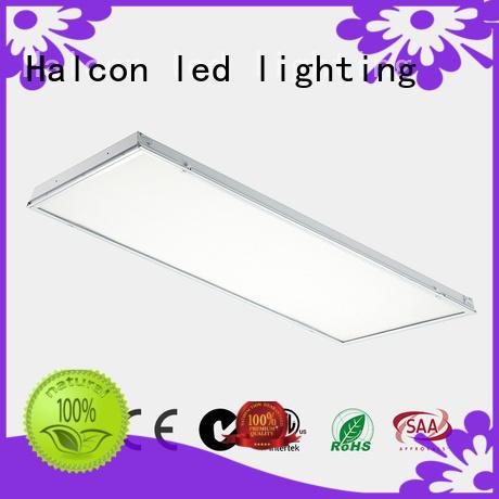 diffuser troffer led panel ceiling lights milky sensor Halcon lighting Brand