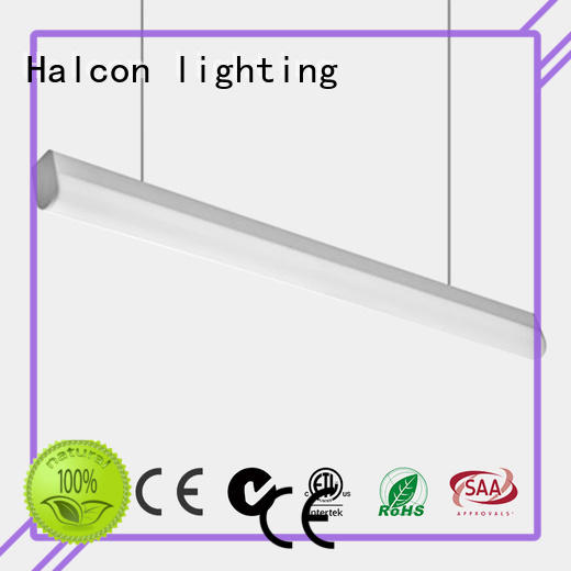 Halcon lighting Brand linkable down custom crystal pendant lighting