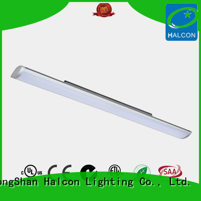 Halcon hanging strip lights supplier for school