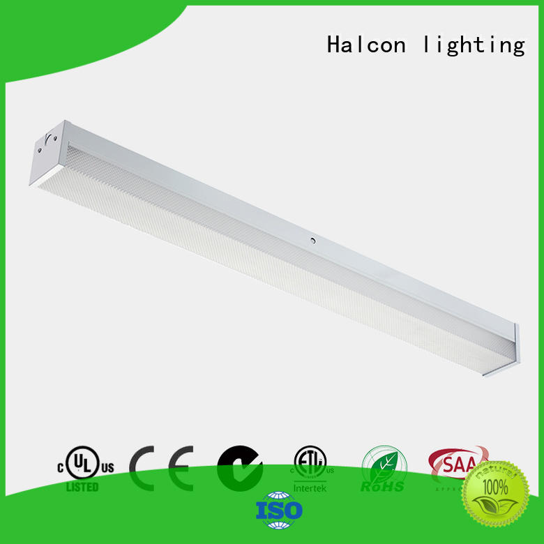 motion fitting led linear light wrapround Halcon lighting company