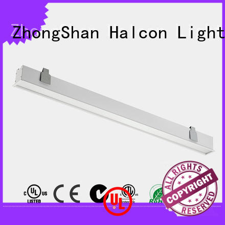 Halcon lighting Brand lens ce housing led tube light fitting commercial