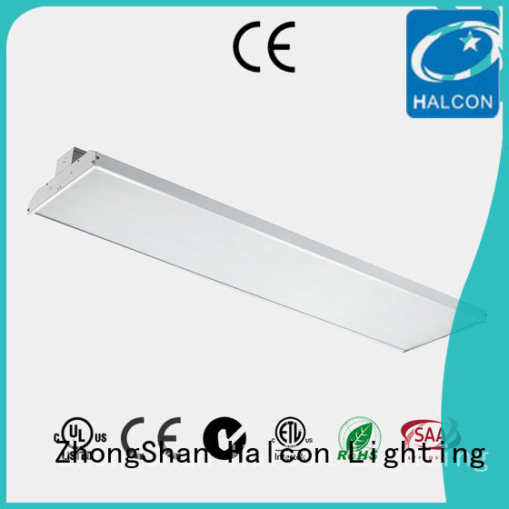 commercial lens high bay light microwave Halcon lighting company