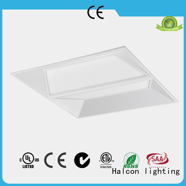 Halcon lighting Brand design diffuser milky led panel ceiling lights recessed