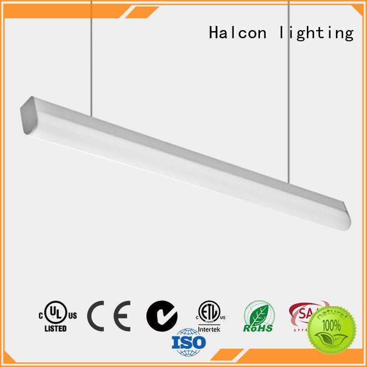 round lens shape pendant led light alluminum Halcon lighting Brand